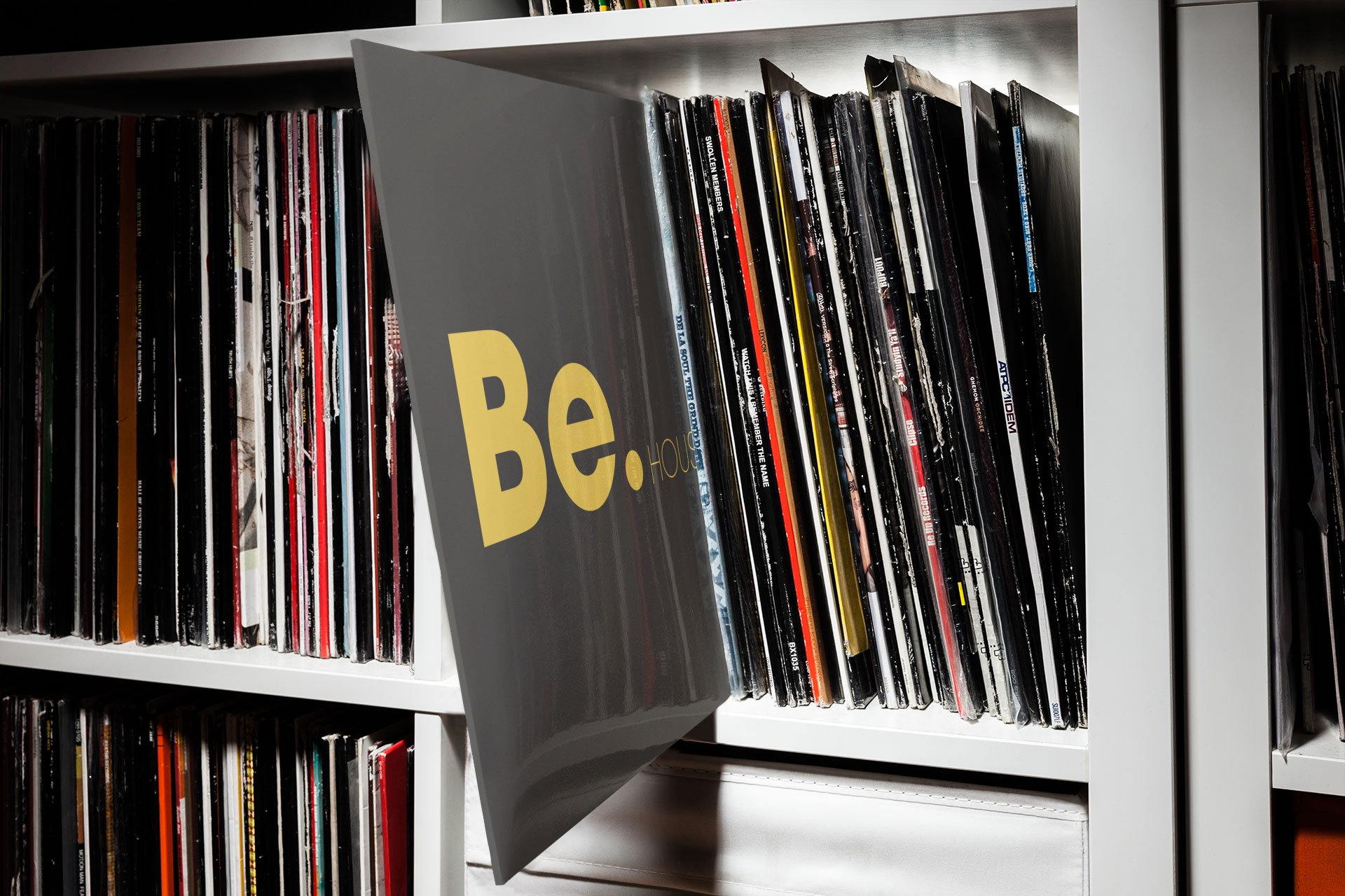 Be.House - Wall of albums