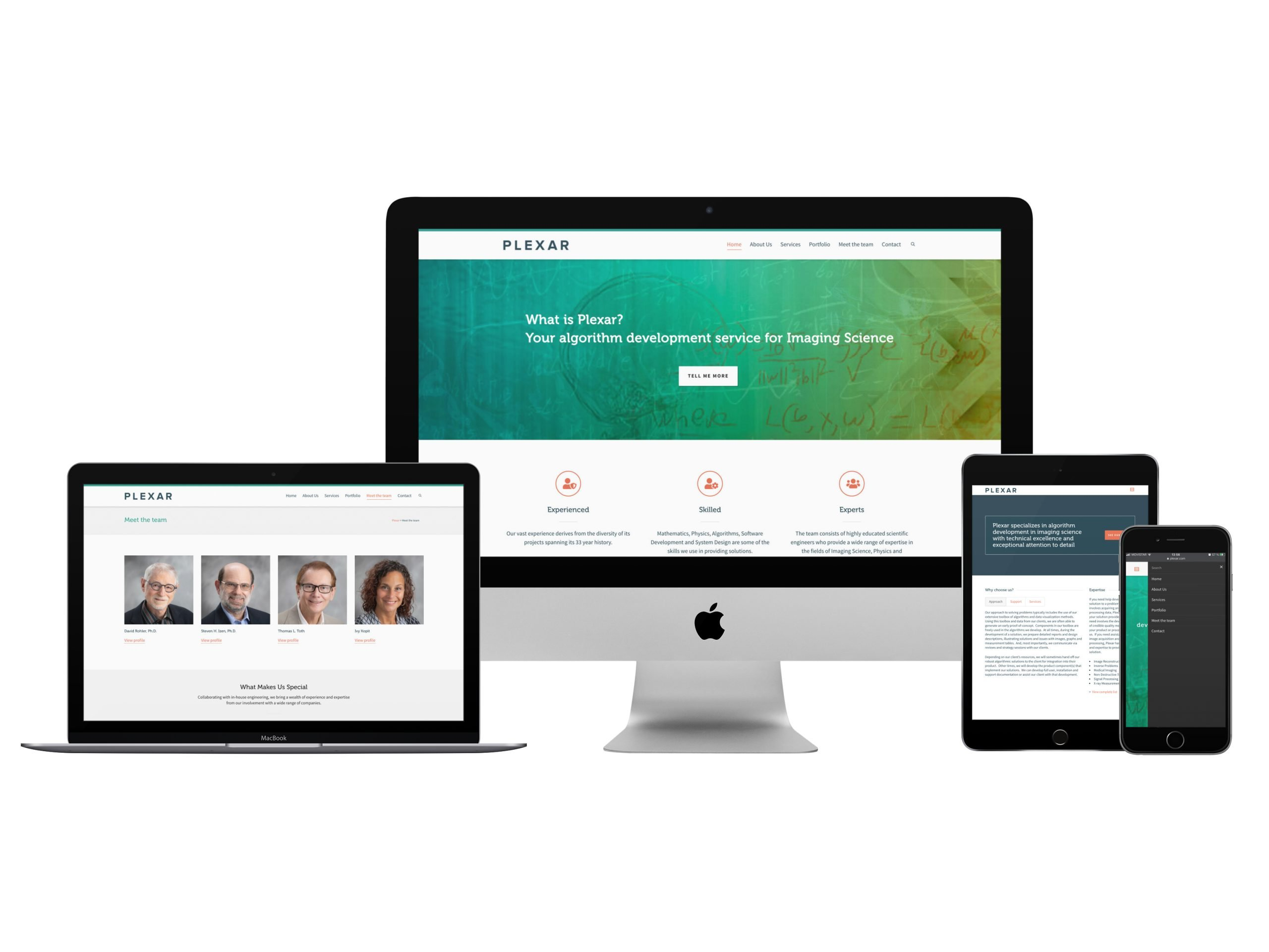 Project: Website Design and Marketing Solution for Plexar